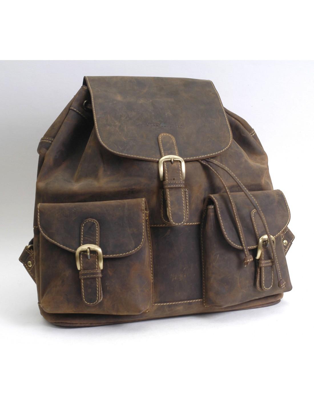 vintage rucksack ryffel felle leder ag. Black Bedroom Furniture Sets. Home Design Ideas