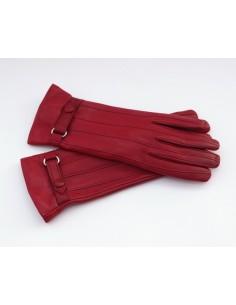 Damenhandschuh Leder mit...