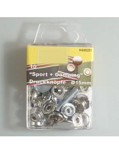 Sport + Camping Druckknöpfe