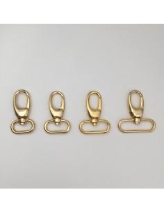 Karabiner Eisen/gold