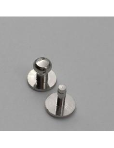 Kopfniete 3.5mm Nickel Frei