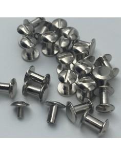 Buchschraube L7mm silber