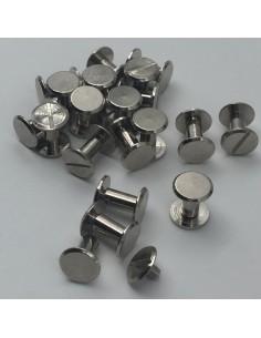 Buchschraube L8mm silber