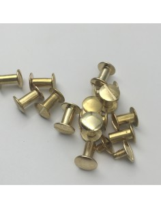 Buchschraube L10mm Linsen Kopf