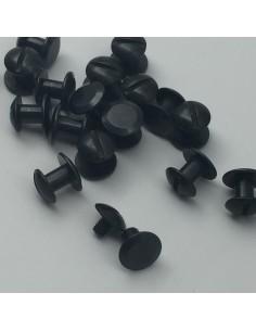 Buchschraube L5mm schwarz