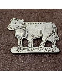 Aufnietplatte Kuh